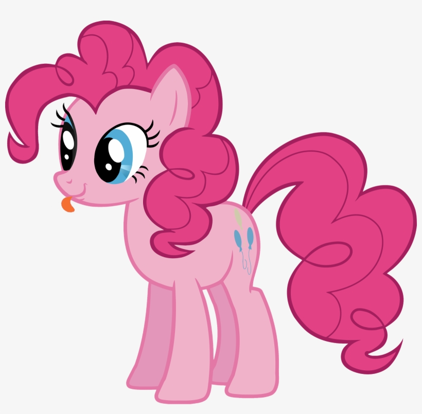 Pinkie Pie Pngs With Her Tounge Sticking Out Png's - My Little Pony Pinkie Pie, transparent png #3095546