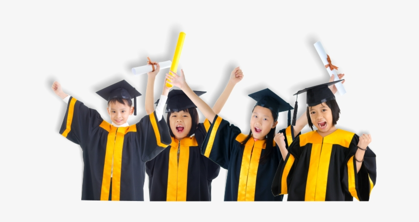 Clip Art Free Stock Children Child Care Preschool And - Kids Graduation Png, transparent png #310790
