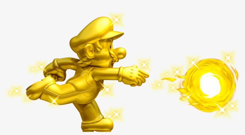 Coin Rush Mode Will Have Gamers Play Three Random Courses - New Super Mario Bros 2 Gold Mario, transparent png #311374
