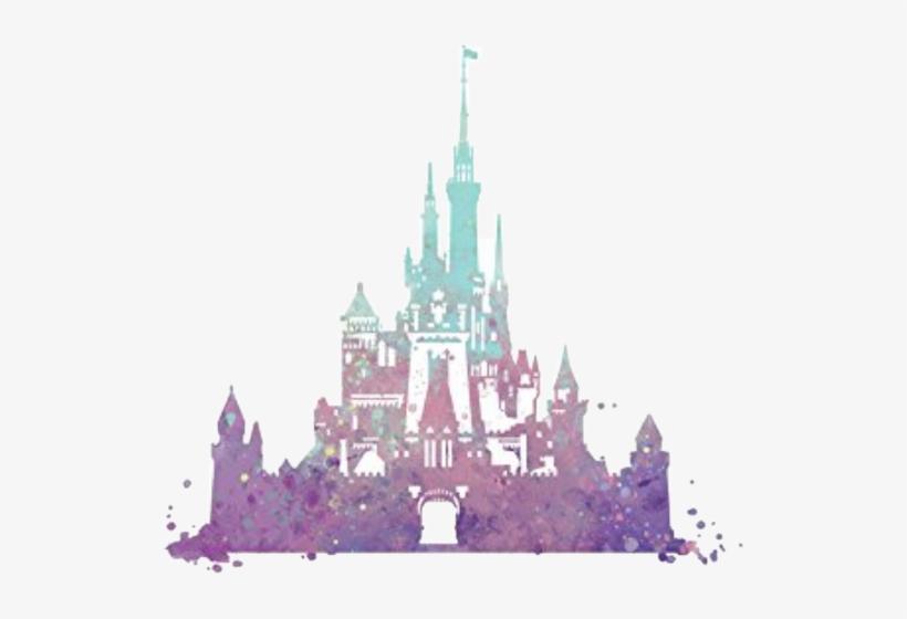 17c28d7be Disney Cinderella Castle Silhouette - Free Transparent PNG Download ...