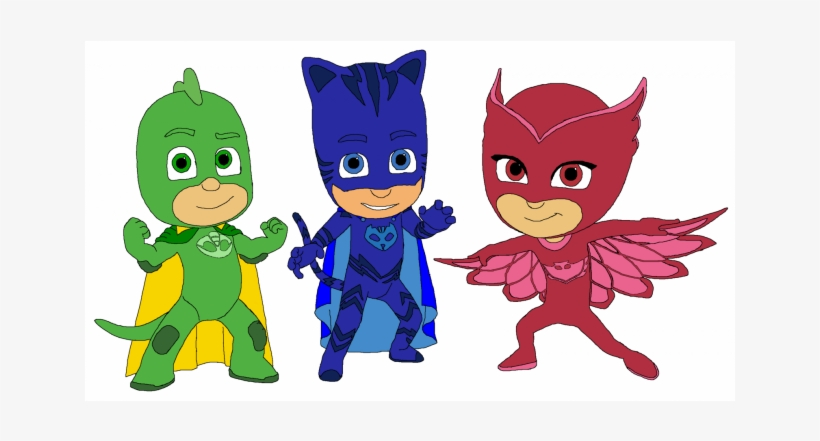 Satisfactory image for pj masks printable images