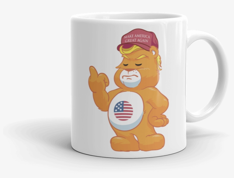 Don't Care Bear W/ Make America Great Again Hat Adult - Donald Trump, transparent png #311585