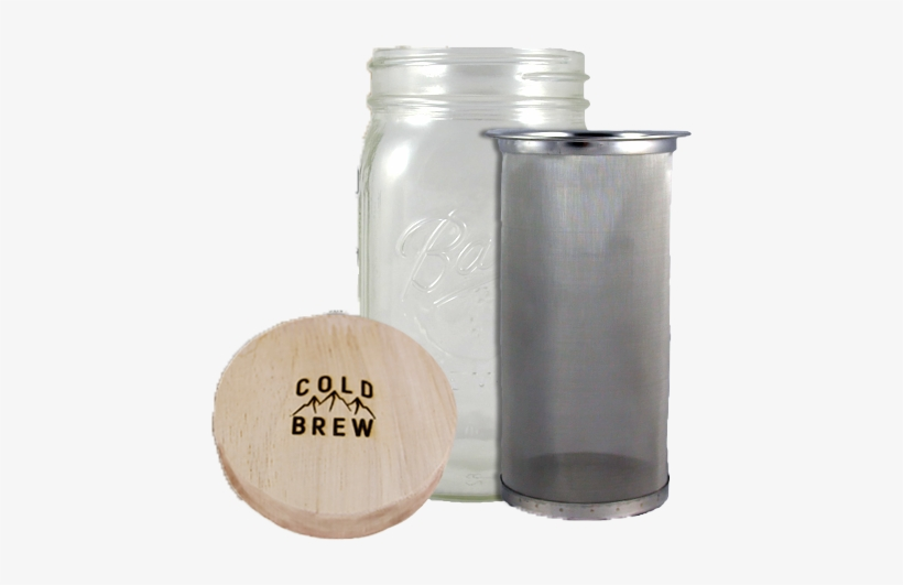 Cold Brew Mason Jar Brew Kit - Cold Brew, transparent png #312152