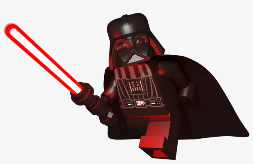 Lego Darth Vader Png - Lego Star Wars Darth Vader Png, transparent png #312387