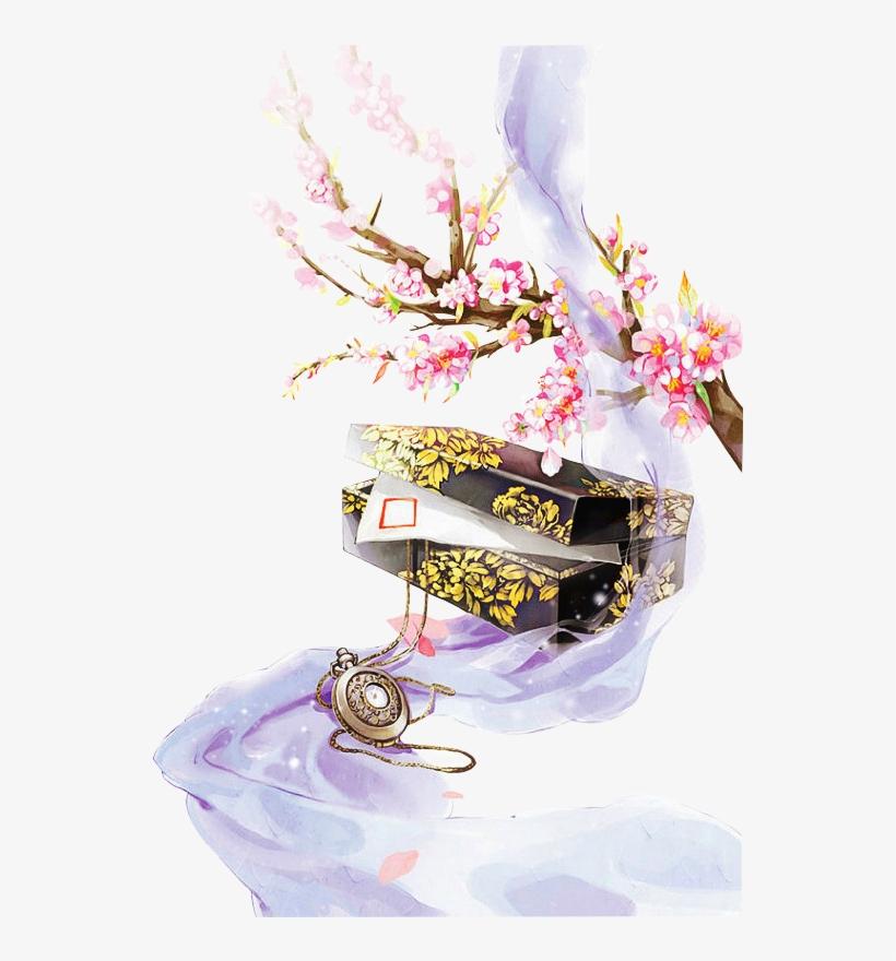 Art Painting Illustration Creative - Tranh Vẽ Phong Cảnh Ngôn Tình, transparent png #312441