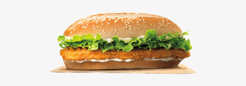 Bk Original Chicken Sandwich - Burger King Long Chicken Sandwich, transparent png #312644