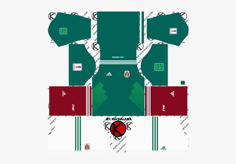 de88e47128a Mexico 2018 World Cup Kits - Mexico Kit Dream League Soccer 2018 ...