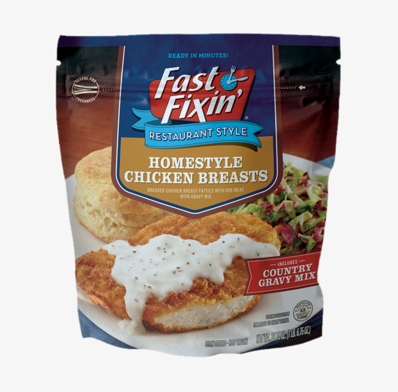 Chicken Fried Chicken Breasts - Fast Fixin' Chicken Nuggets 20 Oz Pack, transparent png #315624