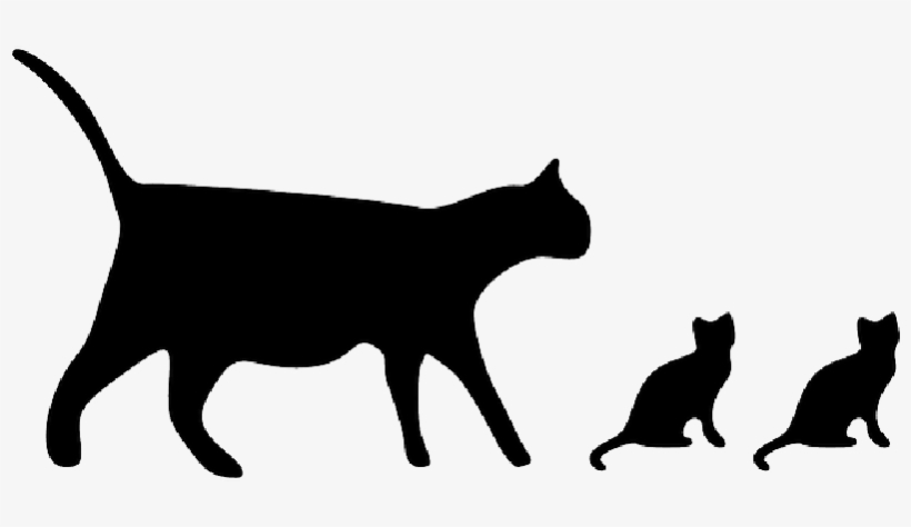 Cat, Black, Icon, Silhouette, Mammals, Cats - Cat Icon, transparent png #316055