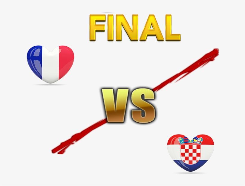 Fifa World Cup 2018 Final Match France Vs Croatia Png - World Cup Final 2018 France Vs Croatia, transparent png #316908