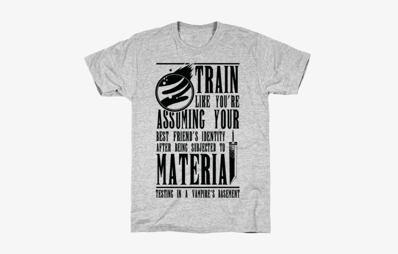 Train Like Cloud Mens T-shirt - We Ll Always Have Paris T Shirt, transparent png #318003