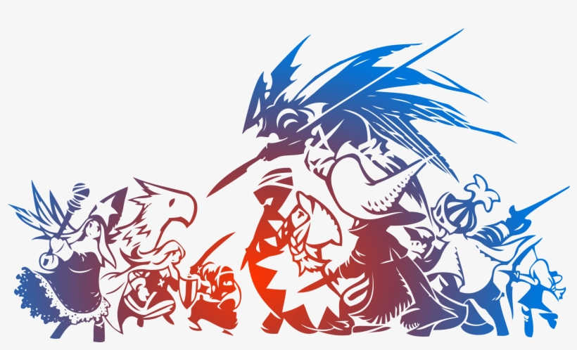 Chocobo Vector Final Fantasy - Final Fantasy Tactics Wotl Logo, transparent png #319461