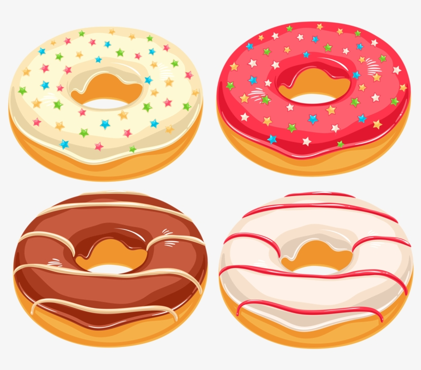 Food Clipart Donut Clip Art Junk Food Free Transparent Png Download Pngkey