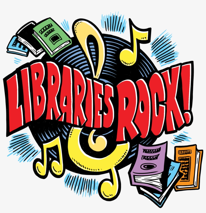 Summer Reading 2018 Libraries Rock, transparent png #3100910