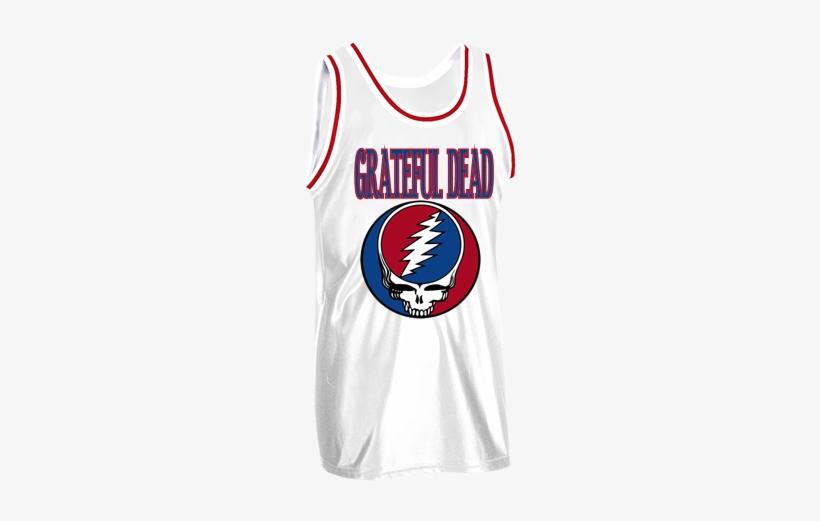 Grateful Dead Bedizzle - Grateful Dead Sports Jersey, transparent png #3103607