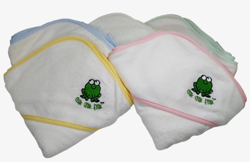 Crokcrokfrok Bamboo Hooded Towel - Happy Baby Skin Bamboo Hooded Baby Towel With Bear, transparent png #3104669