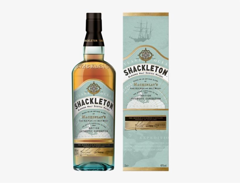 Shackleton Blended Single Malt Scotch Whisky 40% Vol - Shackleton Blended Malt Blended Malt Scotch Whisky, transparent png #3105887