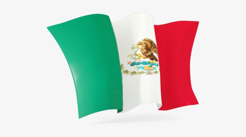 Mexican Flag Waving Clipart Clipartfest - Mexico Flag Png Gif, transparent png #3106012