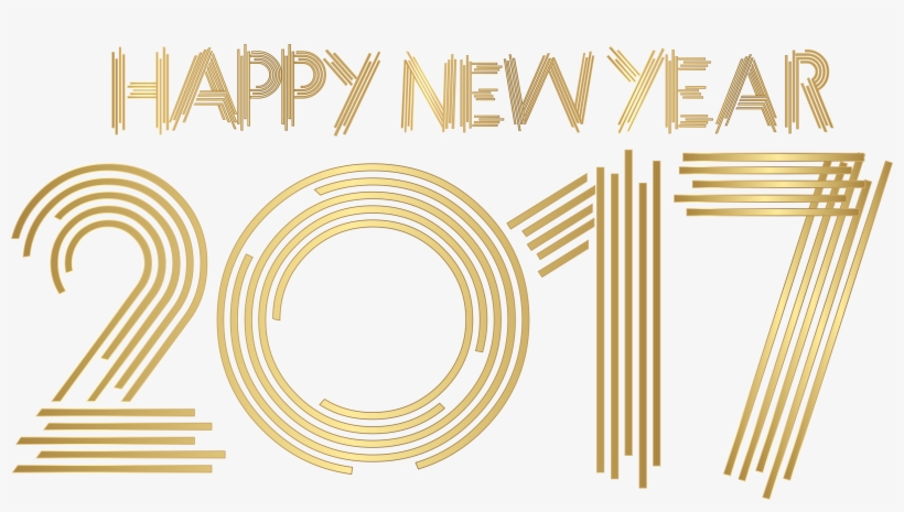 Happy New Year Png 2017, transparent png #3106911