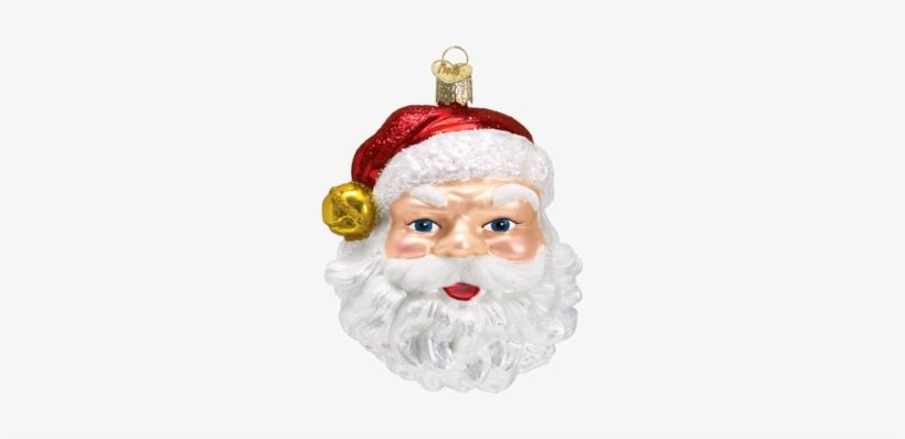 Jingle Bell Santa Ornament - Old World Christmas Jingle Bell Santa Ornament, transparent png #3107053