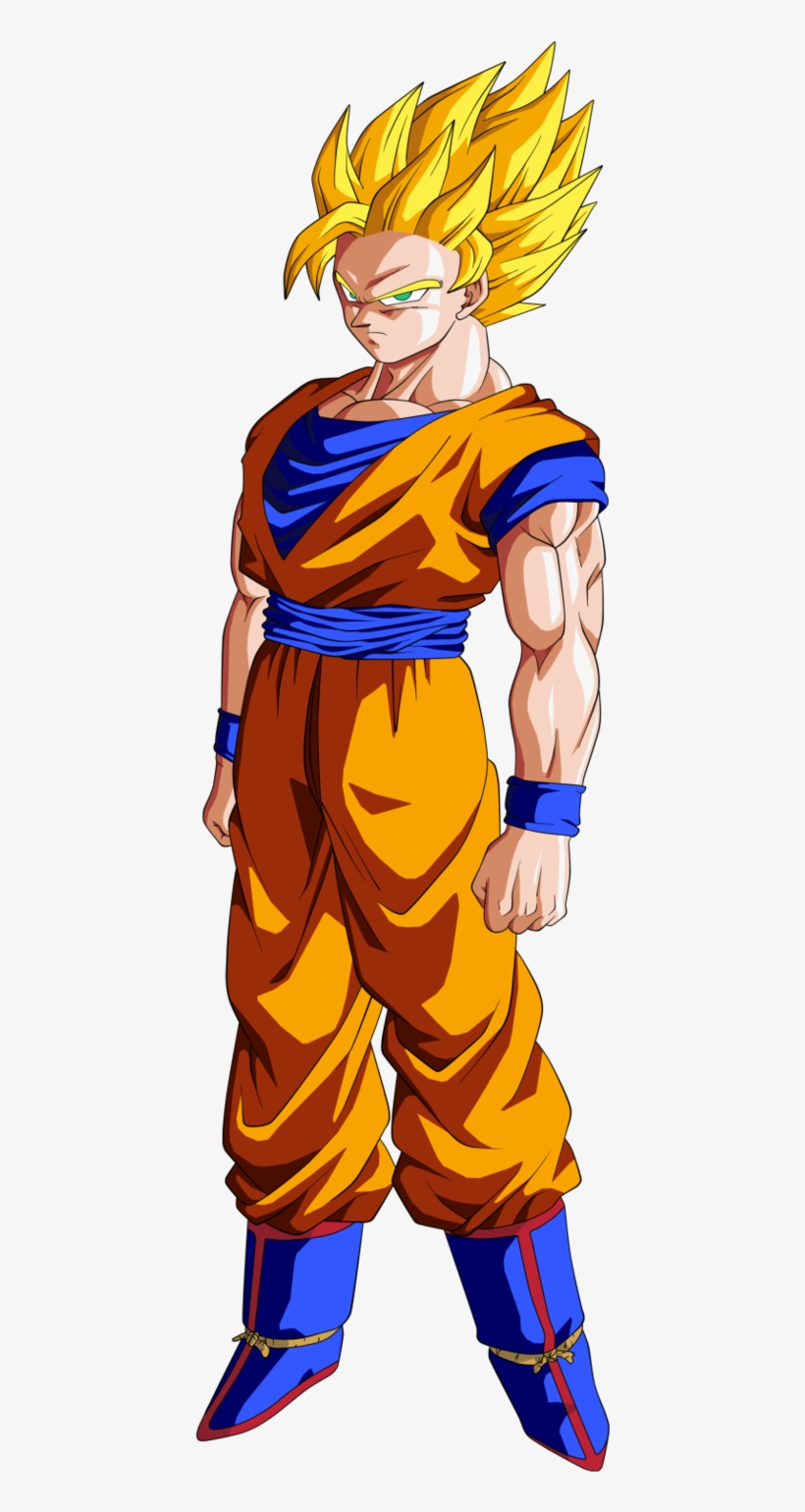 Super Saiyan 2 Goku Dragon Ball Z - Dragon Ball Z Goku Ssj2, transparent png #3109907