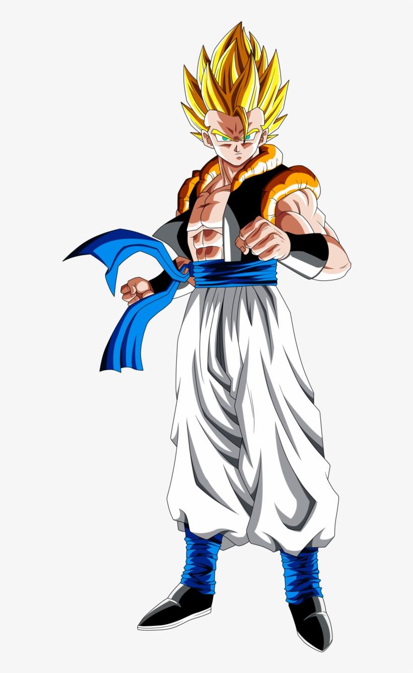 Dragon Ball Z Clipart Super Saiyan - Ssb Vegito Vs Ss4 Gogeta, transparent png #3109936