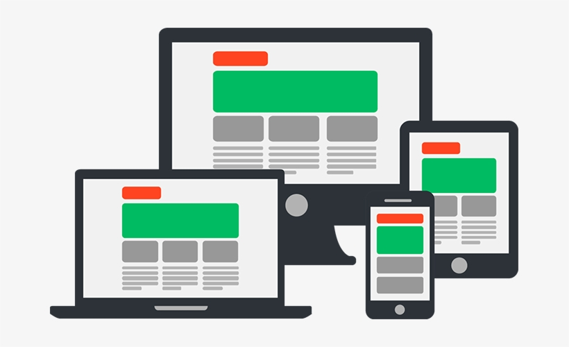 A Responsive Website Is A Single Website That Adapts - Responsive Web Design, transparent png #3110897