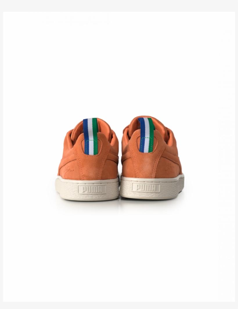 Puma X Big Sean Suede Melon - Skate Shoe, transparent png #3111731