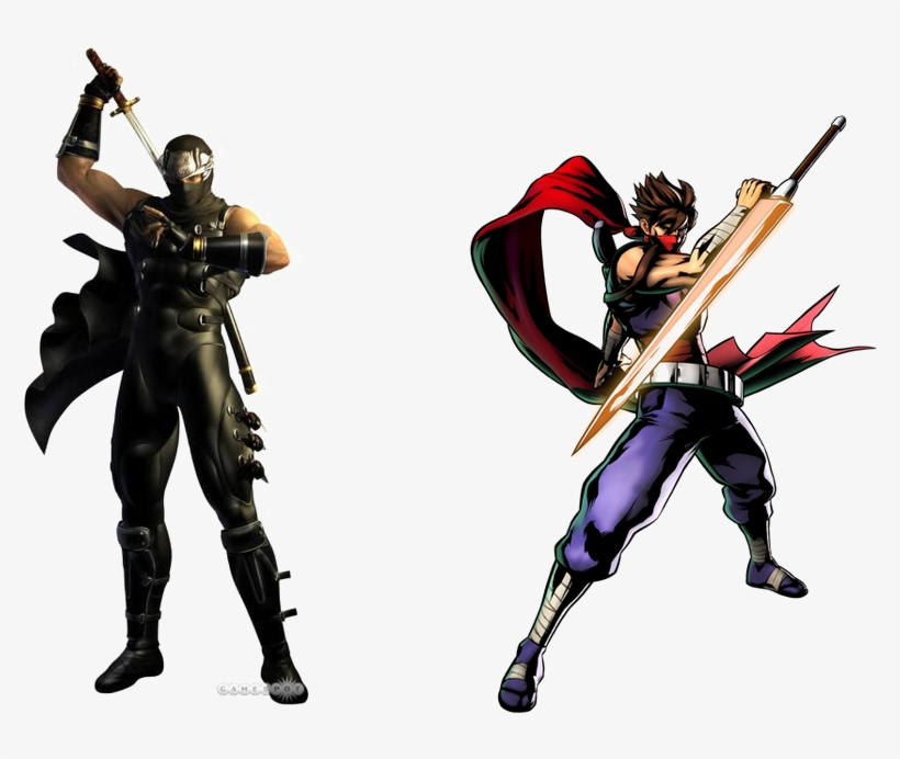 Ryu Hayabusa Transparent Background Png Ninja Gaiden 1 Black