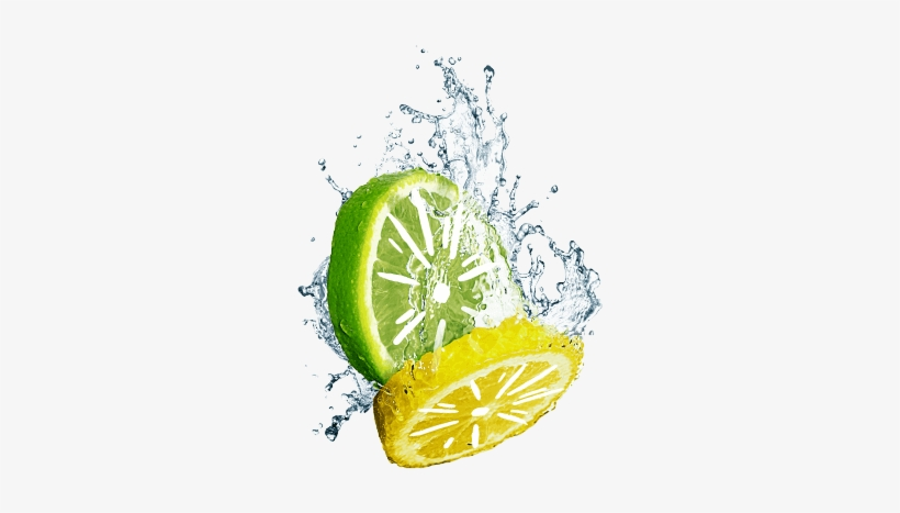 Sierra Mist Lemon & Lime Behind The Can - Water Splash, transparent png #3115947