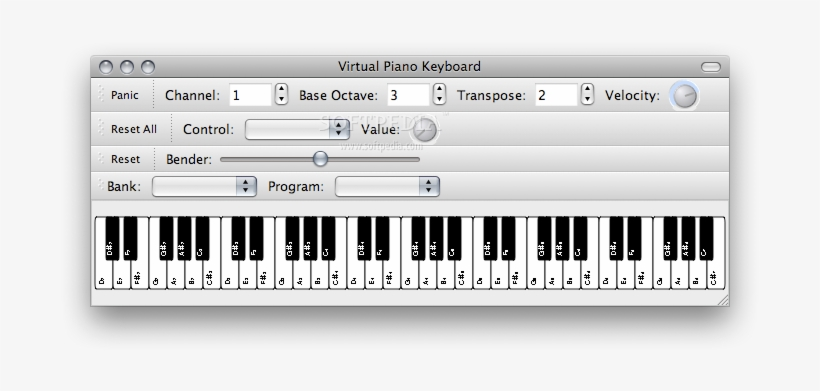 Mac Piano Keyboard - Free Transparent PNG Download - PNGkey