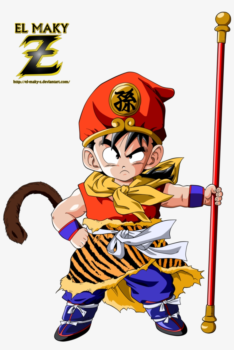 Kid Gohan By El Maky Z - Journey To The West Gohan, transparent png #3119157
