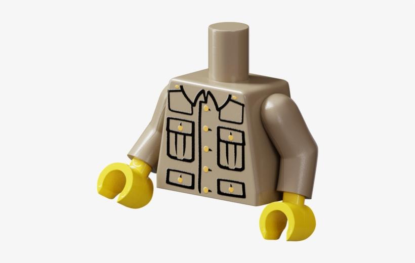 Wwi British Torso - Lego Ww1 German Soldier, transparent png #3119620