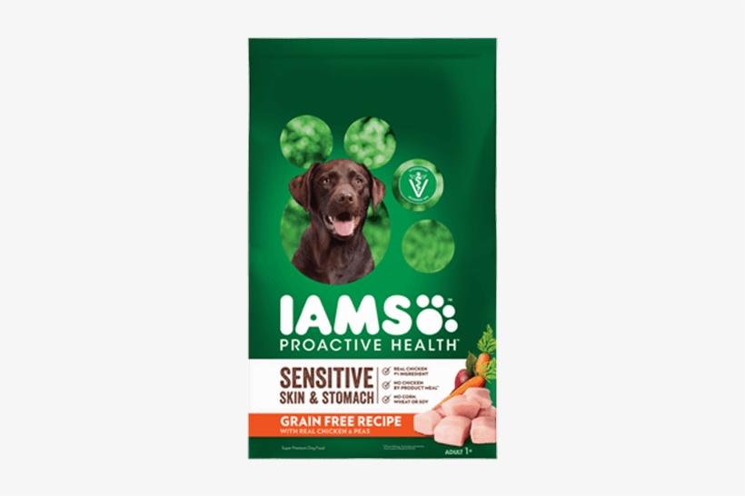 Proactive Health™sensitive Skin & Stomach Grain Free - Iams Sensitive Stomach Dog Food, transparent png #3119889