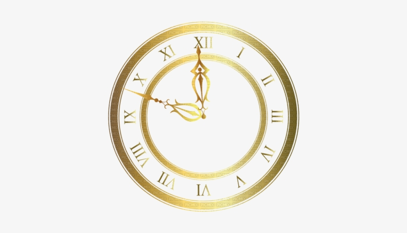 Kaz Creations Deco Gold Clock - Clock Face Transparent Background, transparent png #3123064