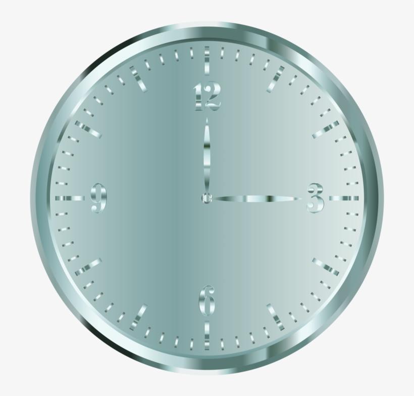 Alarm Clocks Gold Computer Icons Timer - Silver Clock, transparent png #3123254