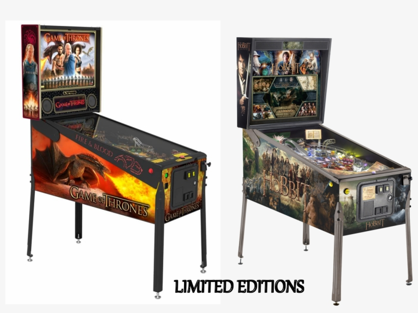 Gothobpinle - Game Of Thrones Limited Edition Pinball Machine, transparent png #3124101