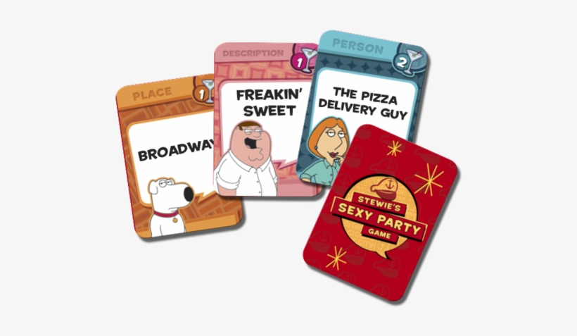 Family Guy Stewie's Sexy Party Game En - Family Guy Stewie's Sexy Party Game, transparent png #3129239