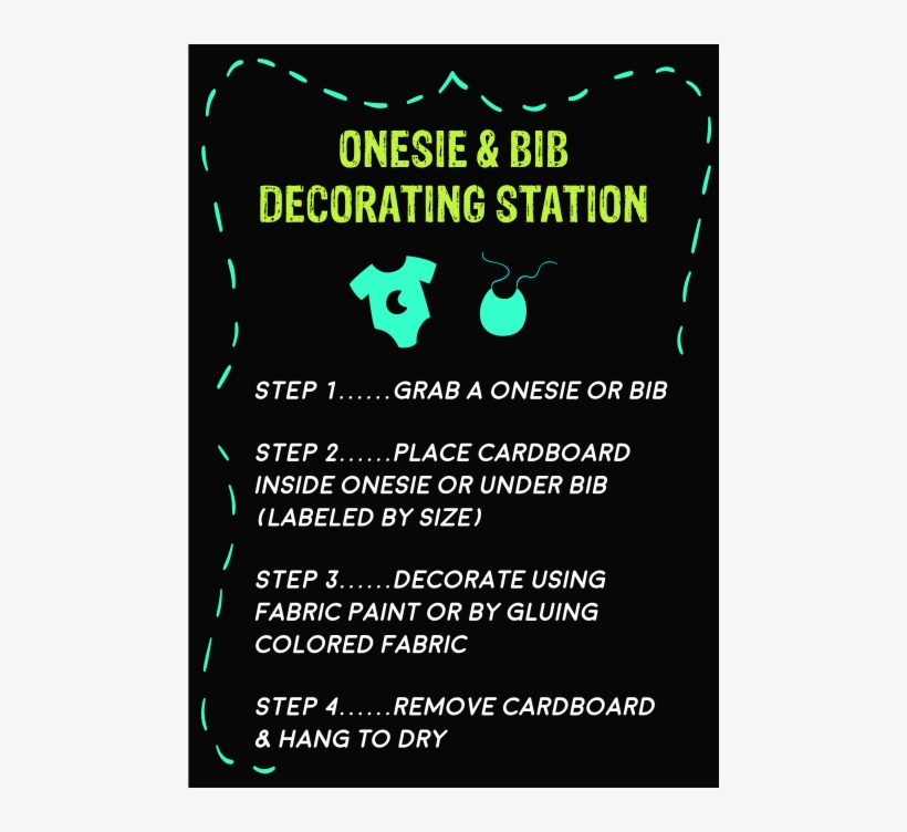 51b247836dcac 90's Baby Shower Table Signs - Bib Decorating Station Sign - Free ...