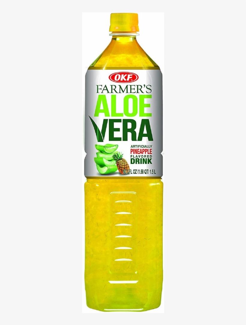Auction - Okf Farmers Aloe Drink, Pineapple, 50.7 Fl Oz, transparent png #3131690