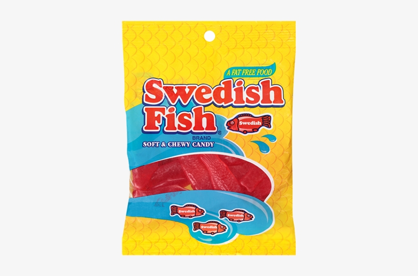 Swedish Fish Soft & Chewy Candy - Swedish Fish Candy Box, transparent png #3133263