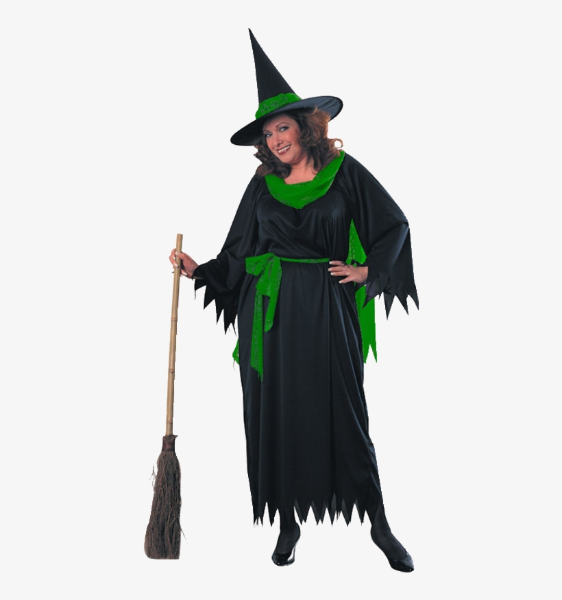 Sexy Witch Costume With Hat- Large - Wicked Witch Fc, transparent png #3133716