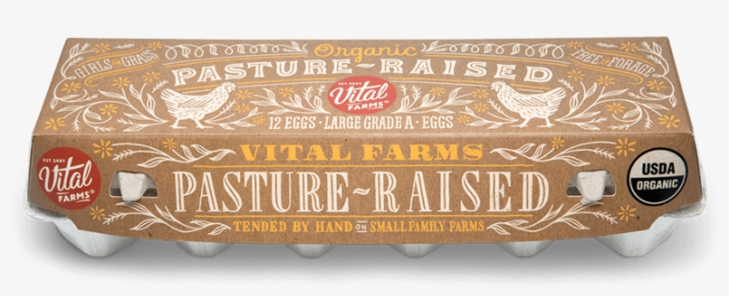 Girls On Grass - Vital Farms Organic Pasture Raised Eggs, transparent png #3137165