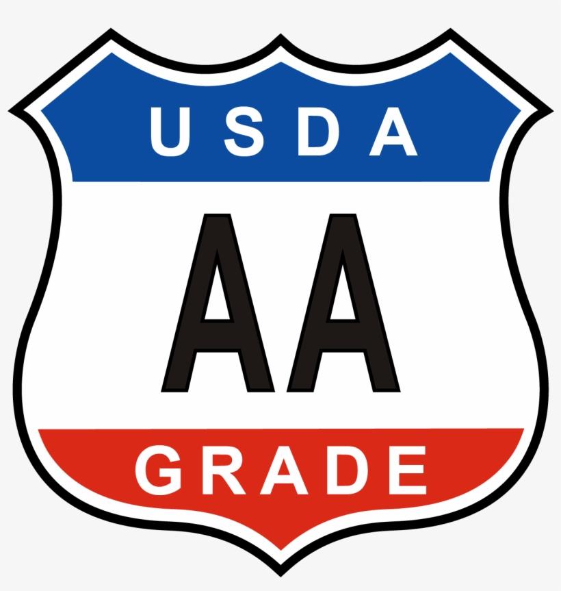 Usda Grade A Shield Usda Aa Gradeshield - Usda Grade A Egg, transparent png #3137359