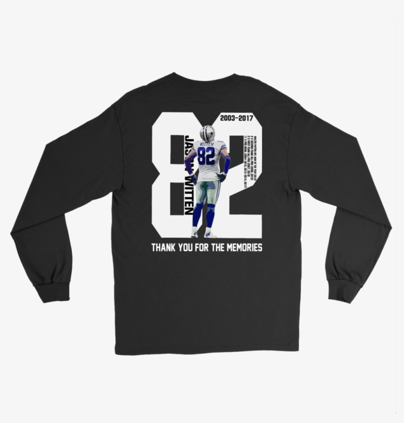 Jason Witten Thank You For The Memories Shirt - 10 Signs You Grew Up In Italian Family Shirt, transparent png #3137778