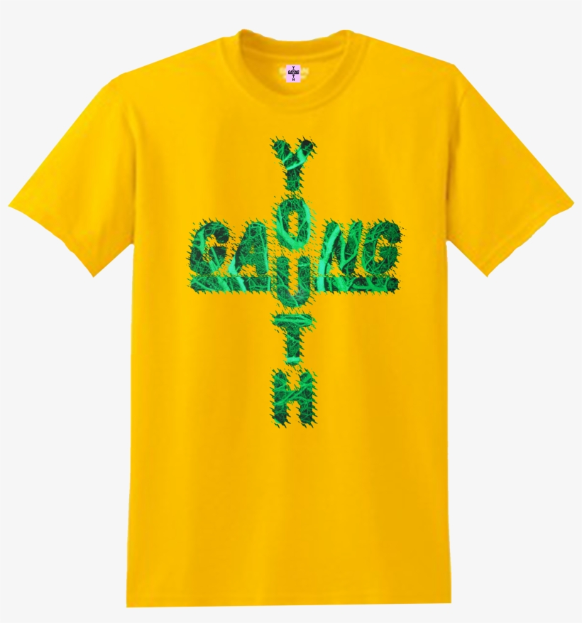 Image Of Sunshine Shrubbery Cross Logo Tee - Don T Tread On Memes Shirt, transparent png #3138826