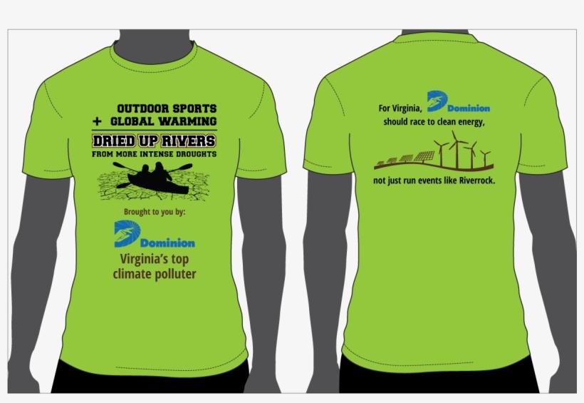 Riverrock T Shirt - Climate Change T Shirt Design, transparent png #3139332