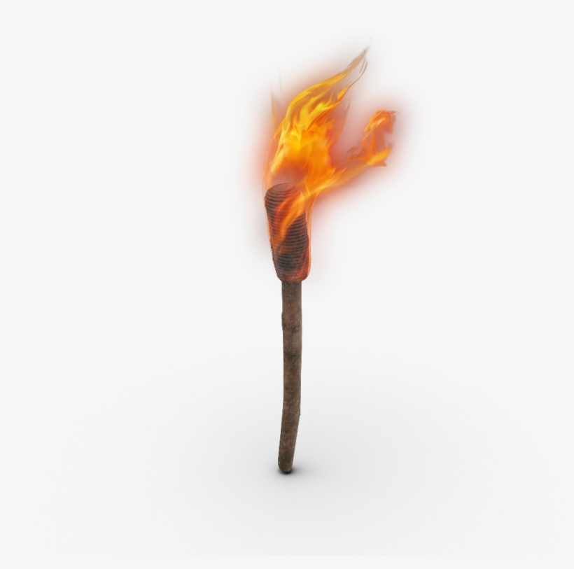 Ftestickers Torch Fire Antorcha Stickers Freetoedit - Torch, transparent png #3139615