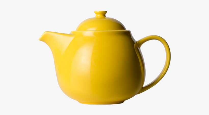 T2 Teaset Daisy Teapot Yellow Large - Tea Set, transparent png #3140368