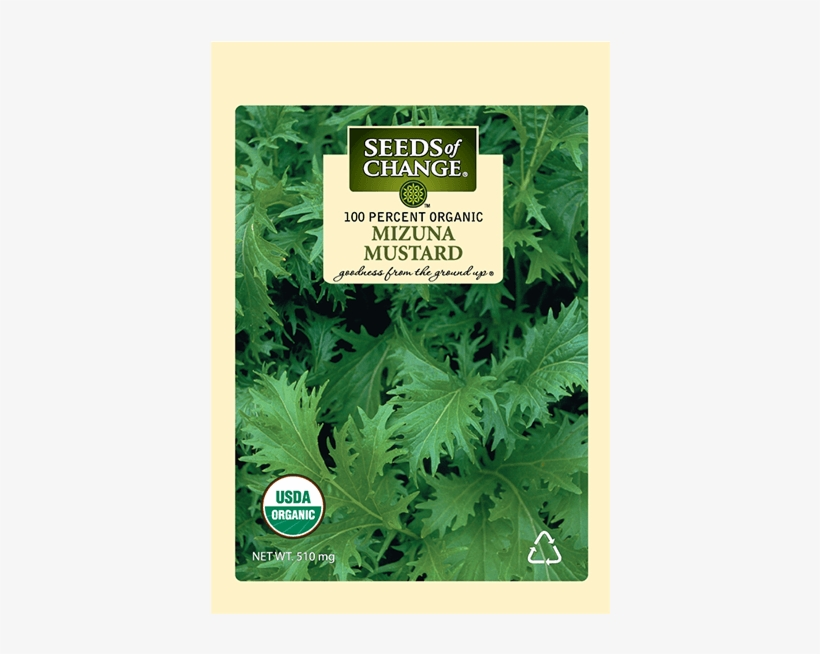 Organic Mizuna Mustard Seeds - Seeds Of Change 21076 Organic Zesty Cln Quinoa Blend, transparent png #3141311